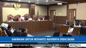 Jaksa Bacakan Dakwaan Setya Novanto