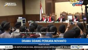 Drama Sidang Perdana Setya Novanto