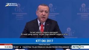 Erdogan Sebut Israel Negara Teror dan Penjajah
