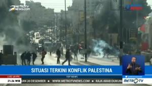 Bentrokan Palestina-Israel Masih Terjadi di Berbagai Titik