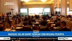 INASGOC Gelar Seminar dengan CdM Negara Peserta Asian Games