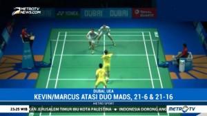 BWF Super Series Finals, Marcus/Kevin Sukses Taklukkan Duo Denmark