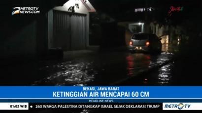 Ratusan Rumah Warga di Bantargebang Masih Terendam Banjir