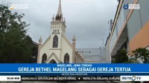 Wisata Rohani ke Gereja Tertua di Magelang