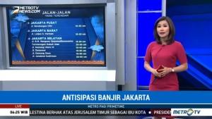 Ini Titik-Titik Banjir di Jakarta