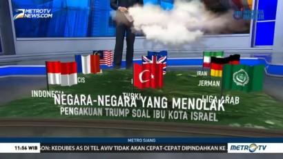 Negara-negara yang Menolak Keputusan Trump soal Yerusalem