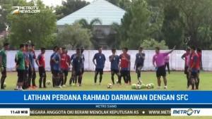 Sriwijaya FC Jalani Latihan Perdana Bersama Rahmad Darmawan