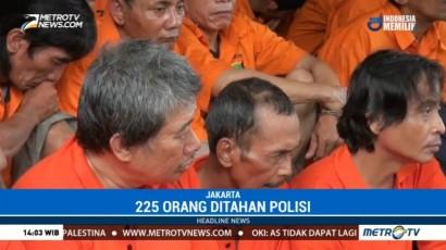 Operasi Premanisme, Polda Metro Jaya Jaring 1.475 Orang