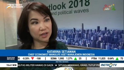 Pasar Finansial Indonesia Diprediksi Tumbuh Positif di 2018