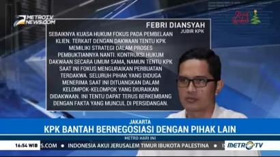KPK Minta Pengacara Setnov Tidak Pertanyakan 3 Nama Politisi PDI-P