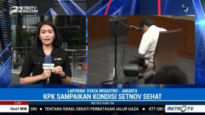 KPK: Setya Novanto Sehat