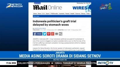 Media Asing Soroti Drama di Sidang Setya Novanto