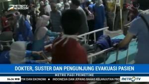 Kebakaran RS Kurnia Cilegon, Ratusan Pasien Dievakuasi