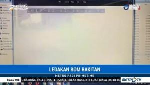 Bom Rakitan Meledak di Warung Makan