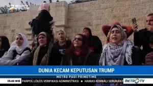 Kaum Ibu di Suriah Tolak Keputusan Trump Soal Yerusalem