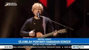 Ed Sheeran hingga Sam Smith Turut Meriahkan Konser Jingle Ball 2017