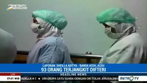 93 Warga Aceh Terserang Difteri Selama 2017