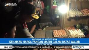 Satgas Pangan Sidang Sejumlah Pasar di Makassar
