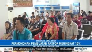Jelang Libur Natal, Permohonan Pembuatan Paspor di Karawang Meningkat