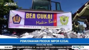 Bea Cukai Bengkulu Musnahkan Barang Ilegal Senilai Rp252 Juta