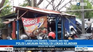 Polisi Terus Berpatroli di Lokasi Ledakan Bom Rakitan