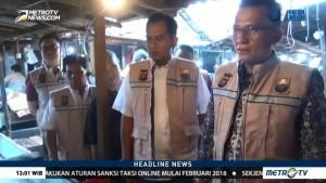 Tim Satgas Gelar Sidak Harga Pangan di Pasar Angso Duo Jambi