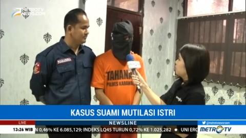 MK Mengaku Gelap Mata Hingga Tega Mutilasi Istrinya
