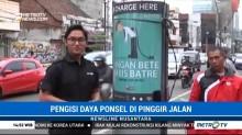 Pemkot Bandung Sediakan Charger Ponsel Gratis di Tempat Umum