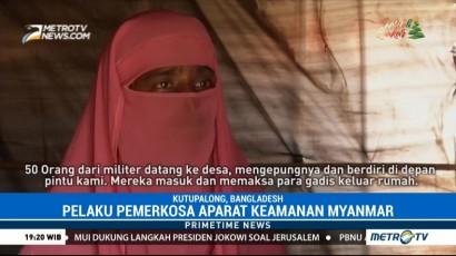 Kisah Perempuan Rohingya Korban Perkosaan Militer Myanmar