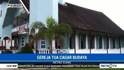 Wisata Rohani ke Gereja Tertua di Kalimantan Tengah