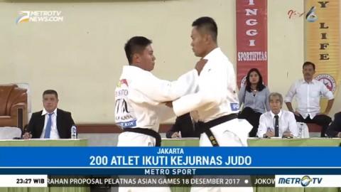 200 Atlet Ikuti Kejurnas Judo 2017