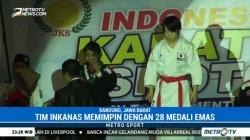 Tim Inkanas Pimpin Perolehan Medali di Turnamen Karate Shoto Open 2017
