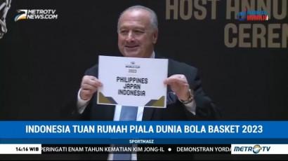 Indonesia Tuan Rumah Piala Dunia Bola Basket 2023