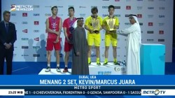 Kevin/Marcus Juara BWF Super Series Finals 2017