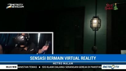 Merasakan Sensasi Bermain Games Virtual Reality