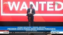 Jokowi Bicara Soal Wirausaha dengan Ratusan Millenial di Bandung