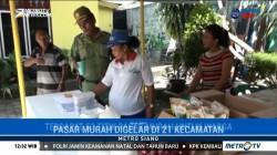 Pemkot Medan Gelar Operasi Pasar Murah Jelang Natal