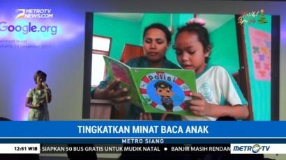 Cara Google Tingkatkan Minat Baca Anak