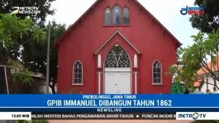 Gereja Merah Saksi Sejarah