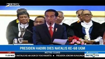 Jokowi: Perguruan Tinggi Punya Peran Sentral dalam Pembangunan Negara