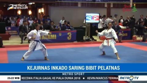 Kejurnas Karate INKADO Jaring Bibit Atlet Pelatnas