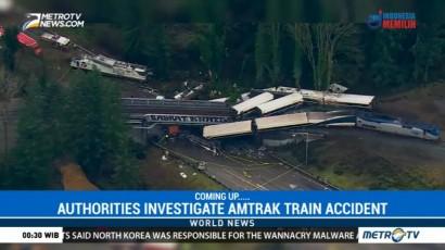 US Authorities Investigate Amtrak Train Accident