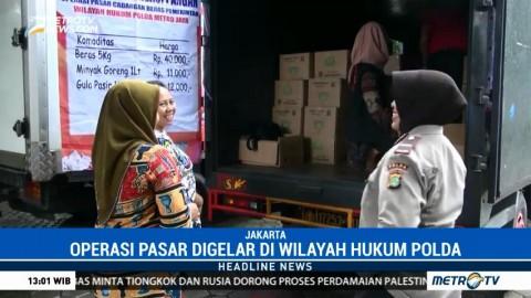 Jelang Natal, Polda Metro Jaya Gelar Operasi Pasar Murah