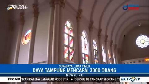 Mengunjungi Gereja Tertua di Surabaya