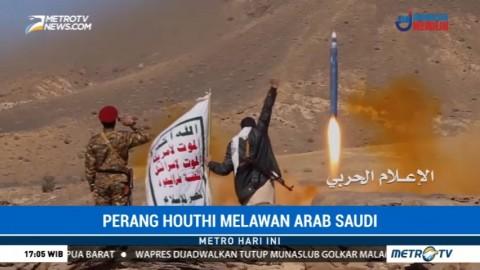 Houthi Luncurkan Rudal Balistik ke Riyadh