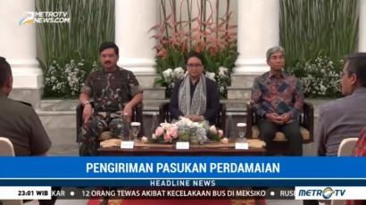 Indonesia Kirim Pasukan Perdamaian ke Afghanistan