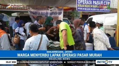 Bulog Banyumas Gelar Operasi Pasar Murah Jelang Natal