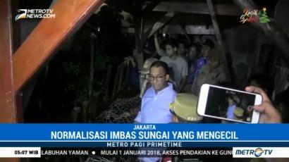 Tanggul Turap RT 14 Jatipadang Jebol