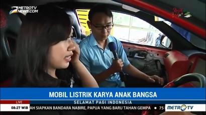 Membedah Mobil Listrik Karya Anak Bangsa (1)