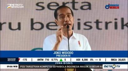 Jokowi Perintahkan Jajarannya Tingkatkan Pelayanan Listrik di Papua